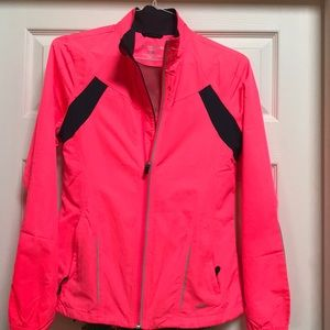 Woman's brooks running jacket.